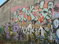 CRUKS (Same $hit Different Day) Tags: graffiti bay east crew nasty btm cruks