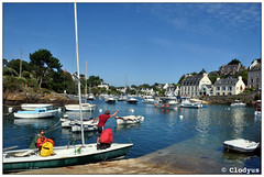 Dolan (11) (clodyus) Tags: mer port boats harbor brittany bretagne bateaux estuary porto atlanticocean ria finistre bretagna estuaire oceanoatlantico estuario dolan imbarcazioni ocanatlantique cloharscarnoet