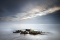 Celestial Rack (241 Seconds) (DavidFrutos) Tags: longexposure costa seascape beach water rock clouds landscape coast agua rocks playa paisaje alicante filter le lee nubes nd filters drama canondslr roca rocas torrevieja filtro largaexposicin filtros gnd neutraldensity canon1740mm gnd8 graduatedneutraldensity densidadneutra davidfrutos cabocervera 5dmarkii bigstopper singhraygalenrowellnd3ss