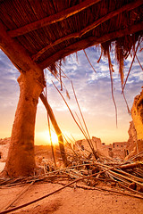 Old House - Sunrise-2 (Saleh Mohammed) Tags: lighting wood old sky house canon eos dc sigma earthy mohammed 1020mm 1020 hdr saleh   d600