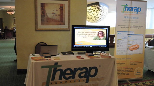 Picture of Therap Booth in FARF & Respect of Florida Annual Meeting