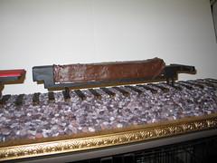 Locomotive Cake (Engine Base Cake on the  Sub-Structure) (RDPJCakes) Tags: 3d fondant traincake sculptedcake ossas rdpjcakes locomotivecake