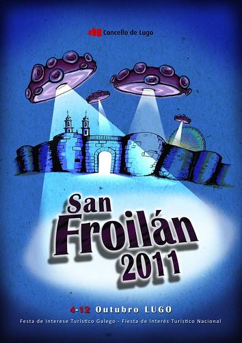 Lugo 2011 - Festas de San Froilán - cartel
