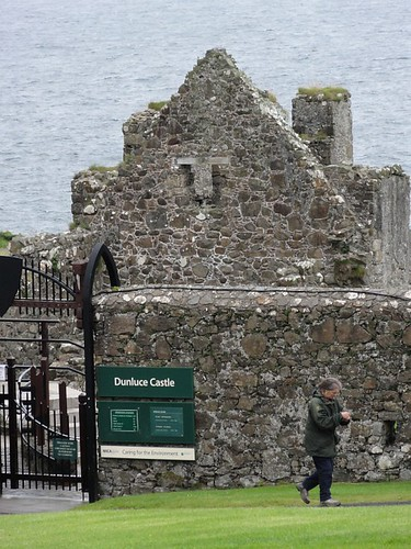 Dunluce Castle Entrance