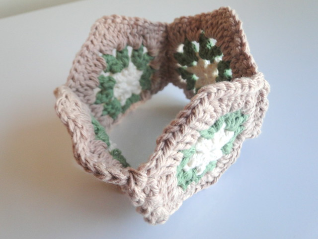 hexagon potholder how-to
