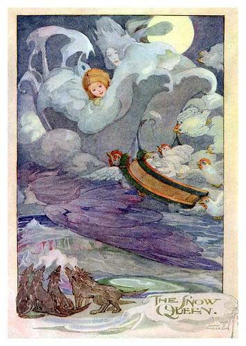 023-Cuentos de Hans Christian Andersen-La reina de las nieves-Anne Anderson