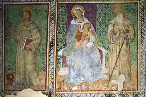 Magliano in Toscana (GR), Church Frescoes #2