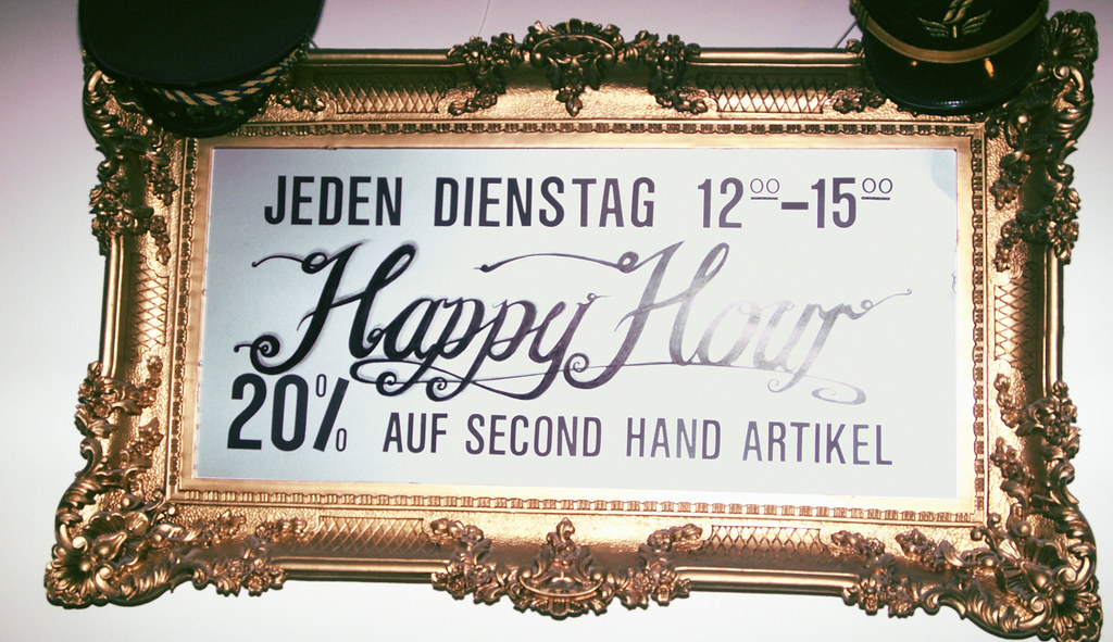 happy hours - made in berlin - strange ambition