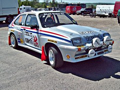 216 Vauxhall Chevette HS (1979) (robertknight16) Tags: british 1970s 1980s vauxhall rallying