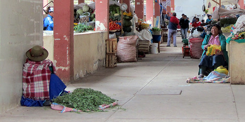 Un Mercado in Cuzco, Peru