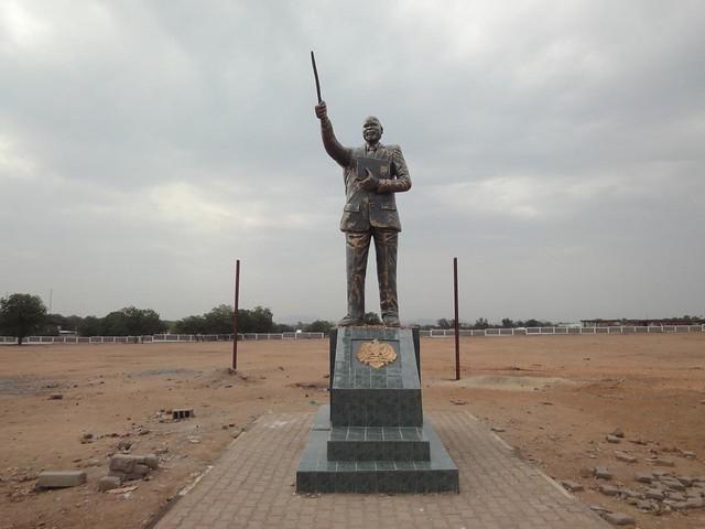 John Garang in Juba, Southern Sudan