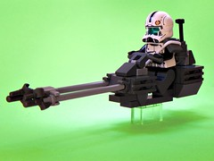 Republic Reconaissance Bike (Brickcentral) Tags: trooper bike star republic lego wars build clone speeder commando moc reconaissance
