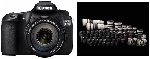 Canon 60D -- Recommended Lenses