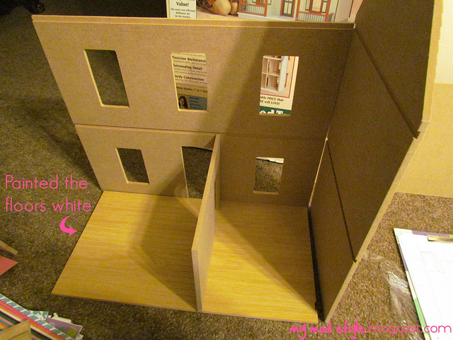 Dollhouse not painted1