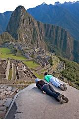 Machu Picchu Planked!