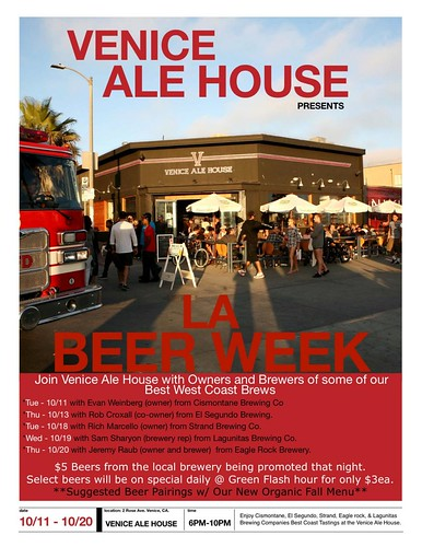 Venice Ale House Beer Week