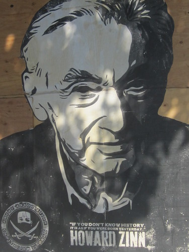 Howard Zinn Portrait