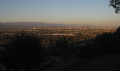The LA Basin (Kelson) Tags: california park sunset mountains skyline losangeles downtown hills sangabrielmountains kennethhahnstaterecreationarea hahnpark
