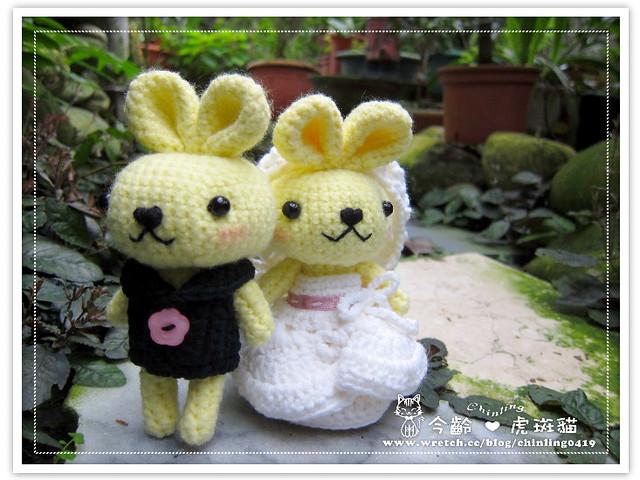 兔子.婚禮娃娃5
