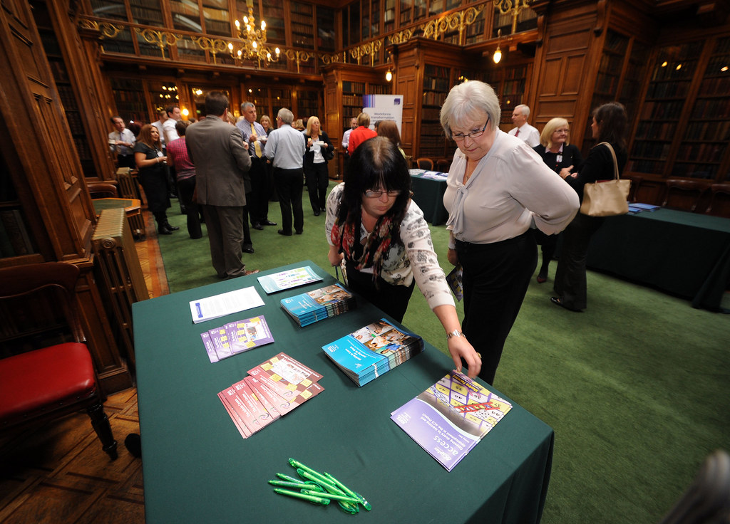 Delegates picking up more information on NES initiatives