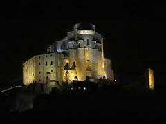 Sacra di San Michele by night -