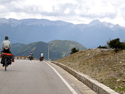Nabi cycling after Shangrila