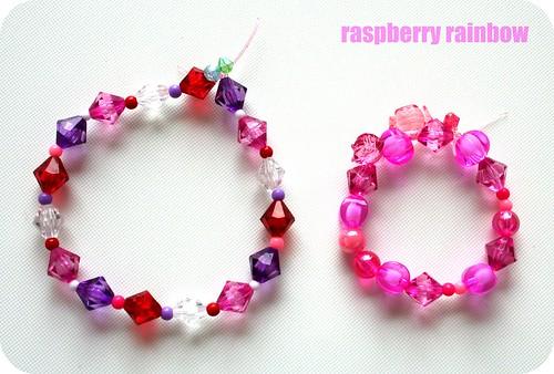 Our bracelets.