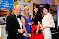 Robert, Ann, Catherine and Sara at the White Rose Awards 2011 presentations.