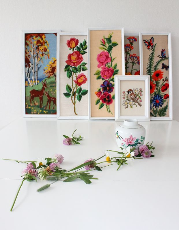 Vintage embroideries by 1Lisbeth