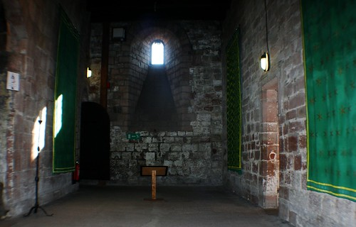 Inside Great Hall of Carlisle Castle