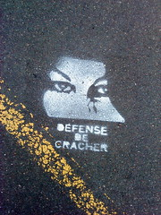 (karotrass) Tags: street art de stencil route ta karo caen dfense pochoir cracher trass karotrass trasstaroute