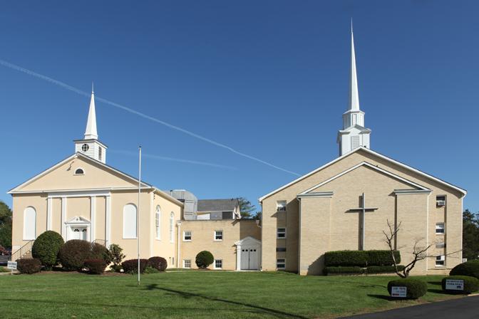 교회전경완성'