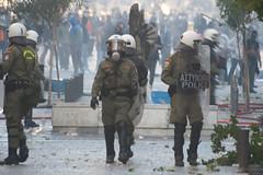 Police Riot (Γκάελ) Tags: greek riot athens demonstration greece mat strike protests greve grece manifestation athenes syntagma 2011 19october emeutes ελλαδα συντάγμα 19octobre athensgeneralstrike athensprotests αφηνα 19οκτωβρίου