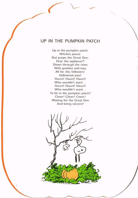 Up in the Pumpkin Patch
