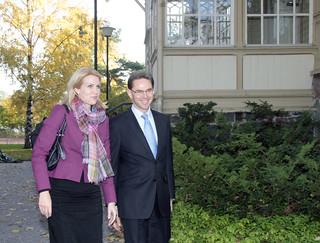Tanskan pääministeri Helle Thorning-Schmidt ja pääministeri Jyrki Katainen - Prime Minister of Denmark Helle Thorning-Schmidt and Prime Minister Jyrki Katainen