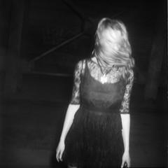 Valeria (mattbellphoto) Tags: blackandwhite bw 120 6x6 film kodak goth brownie hawkeye xtol flashbulb adox chs25 valeriasweet