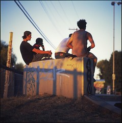 (m.tones) Tags: canada 6x6 film zeiss t golden fuji columbia richmond iso hasselblad velvia skatepark hour carl british medium format 100 cf 500cm sonnar 150mm