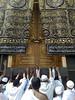 باب الكعبة المشرفه (AL-Mansoob) Tags: الحرم باب المكي الكعبه
