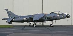 Stalled VSTOL (crusader752) Tags: nikon coolpix bae raf harrier instructional cosford airframe e8800 19022009 zd46252