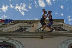Visions, prove, 11.09.2011 (theatrenvol) Tags: visions theatre performance sassari streetarts girovagando verticaldance