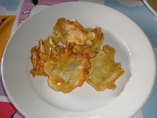 buñuelos de calabacin