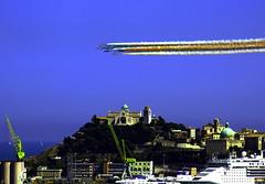 duomo frecce tricolore (Orlando Micucci) Tags: porto papa congresso frecce ancona tricolore eucaristico 2011