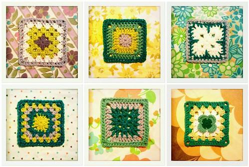 made up squares