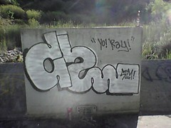 Cuss (Everyday Life.) Tags: graffiti oakland stm