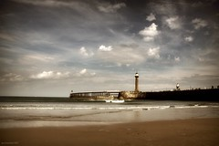 (andrewlee1967) Tags: lighthouse whitby sea beach coast nex3 andrewlee1967 uk gb england canon50d sigma18200mm andrewlee