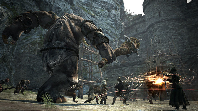 Shoot A Cyclops In Its One Eye In New Dragon's Dogma TGS Trailer (10)