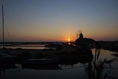 Silence in the salt flat (Yellow.Cat) Tags: italy mill boat barca italia sale salt sicily saline sicilia salina mulino saltflat mozia mothia