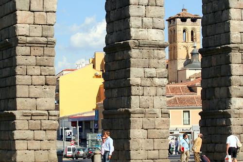 en Segovia, una tarde