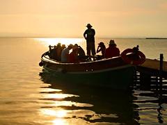 Paseo en barca (Jesus_l) Tags: espaa valencia atardecer europa barca paseo elpalmar laalbufera jesusl