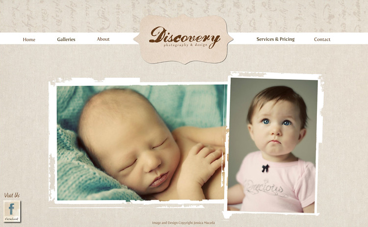 Discovery Photography & Design Homescreen | Boone, NC